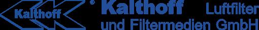Logo der Kalthoff Luftfilter und Filtermedien GmbH